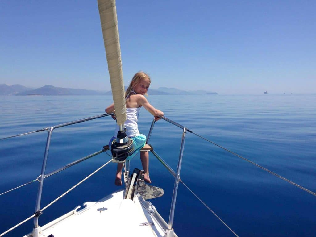 Sailing Holidays with children