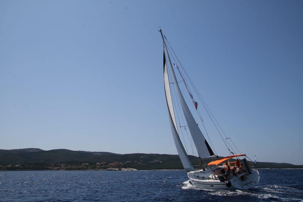 zeilvakantie griekenland op de ionische zee